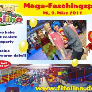 Mega-Faschingsparty im Fitolino
